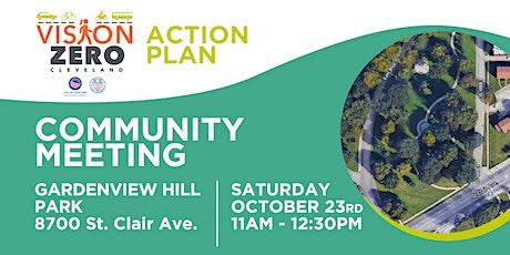 Vision Zero Community Mtg @ Gardenview Hill Park tickets