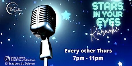 Stars In Your Eyes - Karaoke Night tickets