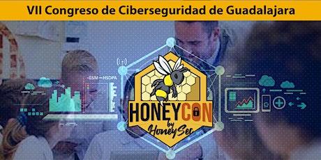 Congreso de Seguridad Informática de Guadalajara - HONEYCON21 entradas