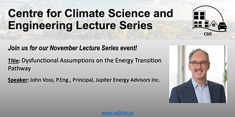 UofT Centre for Climate Science and Engineering Lecture Series - Nov 2021 tickets