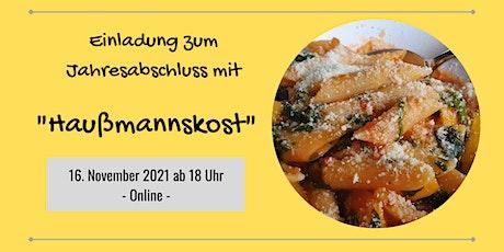 Agile Stammtisch Lindau: Jahresabschluss mit Haußmannskost Tickets