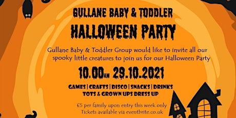 Gullane Baby and Toddler Halloween Party tickets