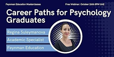 Career Paths for Psychology Graduates billets
