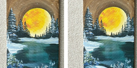 Sip and Paint Class Christmas Scene tickets
