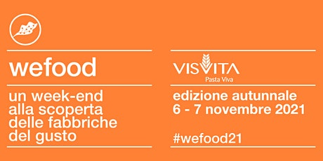 WeFood 2021 @VisVita biglietti