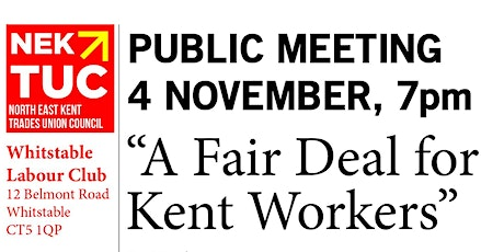 A Fair Deal for Kent Workers tickets
