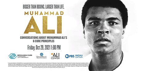 Conversations about Muhammad Ali's 6 Core Principles tickets