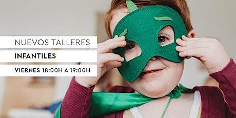 Talleres Infantiles RUBIO - Manualidades,  y mucho más. 1h. tickets