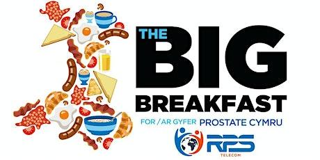RPS Telecom's Prostate Cymru Big Breakfast tickets