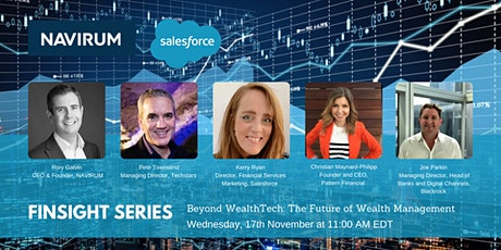 Finsight Series:  Beyond Wealthtech, the Future of Wealth Management tickets