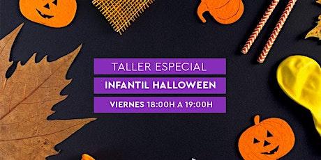Taller Infantil Halloween RUBIO - Manualidades,  y mucho más. 1h. tickets
