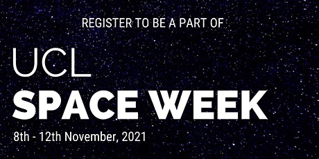 UCL Space Week - The Artistry of Dan Curry tickets
