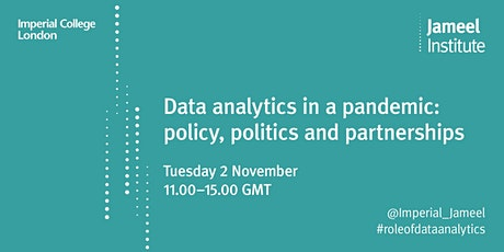 Data analytics in a pandemic: policy, politics and partnerships tickets