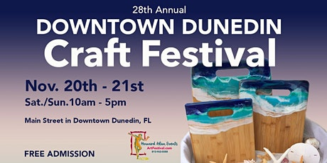 28th Annual Downtown Dunedin Craft Festival tickets