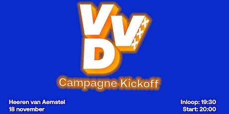 VVD Amsterdam: Campagne Kickoff tickets