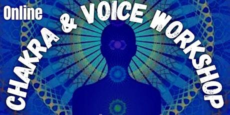 Chakra & Voice Workshop tickets