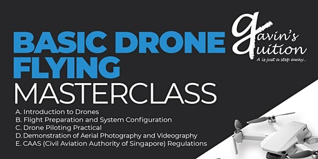 Basic Drone Flying Masterclass tickets