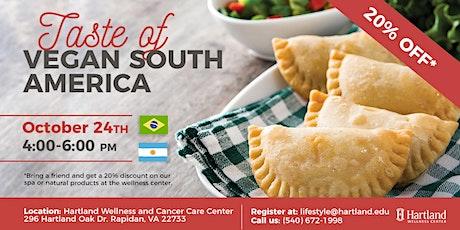 Taste of Vegan South America tickets