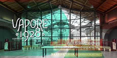 VAPORE 1928 | Brunch & Aperitivo in the Industrial Space tickets