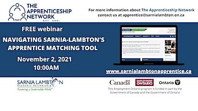 Navigating Sarnia-Lambton's Apprentice Matching Tool tickets