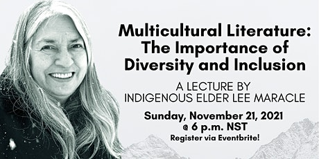 Multicultural Literature: A Lecture by Lee Maracle tickets