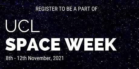 UCL Space Week - Conference Debat tickets