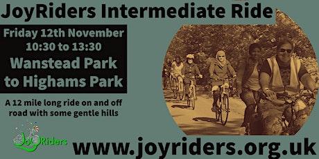 Intermediate Bike Ride  Wanstead Park  to Higham's Park tickets