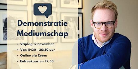 Online Demonstratie Mediumschap tickets