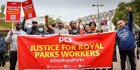 Black History Month fundraiser for the Royal Parks strikers tickets