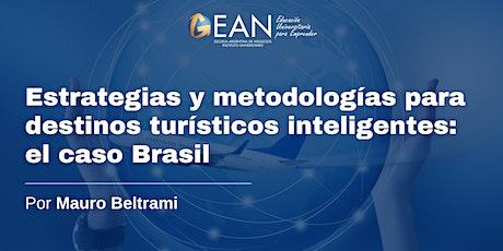 Estrategias y metodologías para destinos turísticos inteligentes entradas