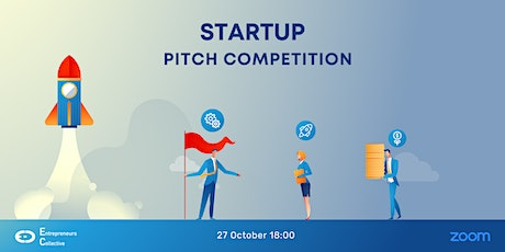 Startup Pitch Competition & Networking with & Angel Investors - October tickets