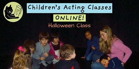 Children's Halloween Acting Class, Online Drop-in Class for Ages 7 - 12 tickets