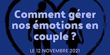 Atelier sur la gestion des émotions en couple billets