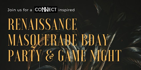 Renaissance Masquerade Birthday Party & Game Night tickets
