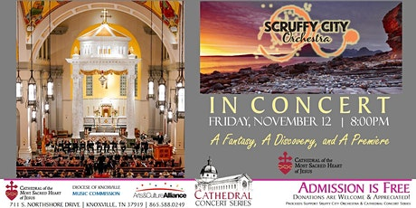Cathedral Concert: Scruffy City Orchestra tickets