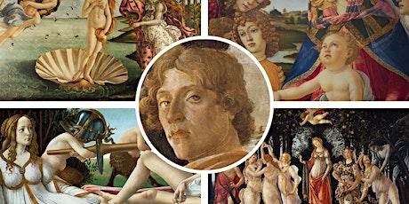 "FREE WEBINAR | ""Italy's Great Artists: Botticelli"" tickets"
