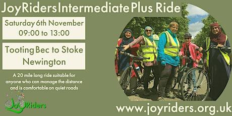 Intermediate Plus Bike Ride Tooting Bec to Stoke Newington tickets