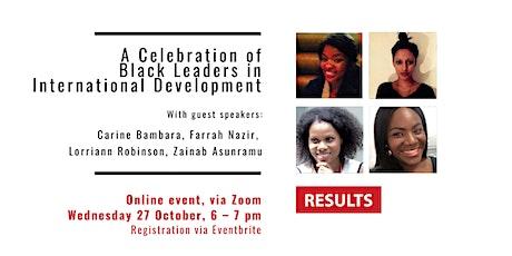 A Celebration of Black Leaders in International Development tickets