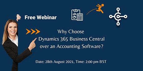 Why choose Dynamics 365 Business Central over any accounting software? tickets