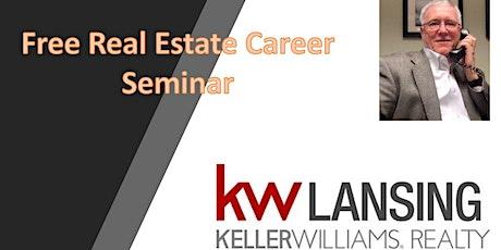 The Ultimate Real Estate Career  - Free Digital Seminar entradas