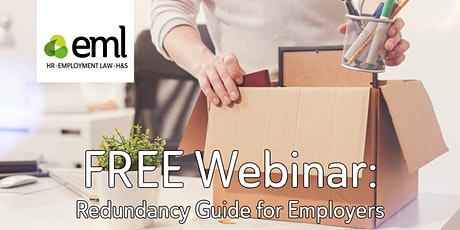 FREE Webinar - Redundancy Guide for Employers tickets