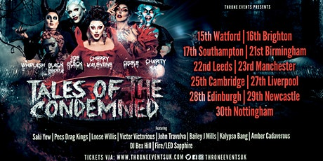 Leeds - Tales of the Condemned tickets