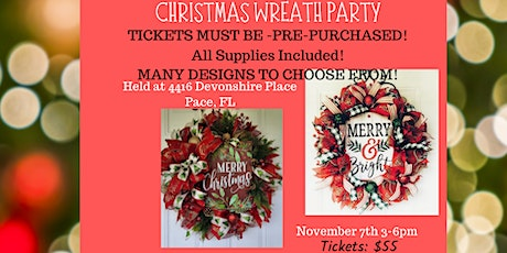 Christmas Wreath Party tickets