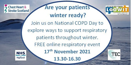 Are Your Respiratory Patients Winter Ready? tickets