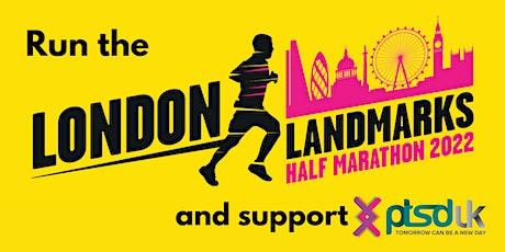 London Landmarks Half Marathon for PTSD UK tickets