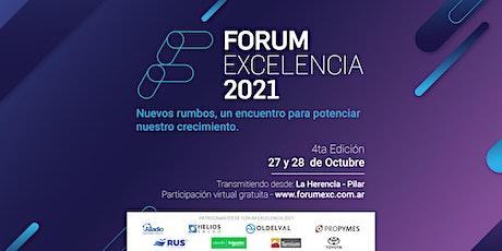 FORUM EXCELENCIA 2021 entradas