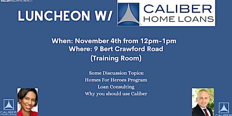 Lunch and Learn with Caliber Home Loans tickets