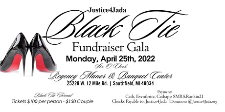 Justice4Jada Black Tie Fundraiser Gala tickets