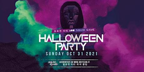 HALLOWEEN PARTY | Squid Game biglietti