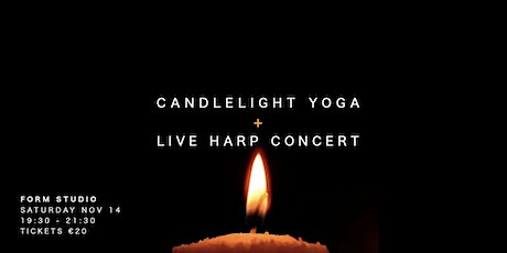 Candlelight Yoga w/ Live Harp Concert tickets